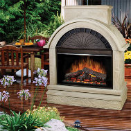 Dimplex scottsdale fireplace